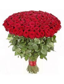 Букет из 101 розы Рэд Наоми