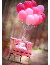 """Связка шаров """"Розовое облако"""""""