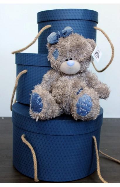 """Мягкая игрушка """"Мишка Тедди с бантиком"""""""